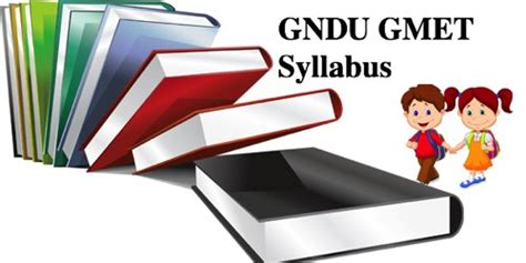 Test For Mba In Gndu by Gndu Gmet 2018 Syllabus For Mca Bca Etc