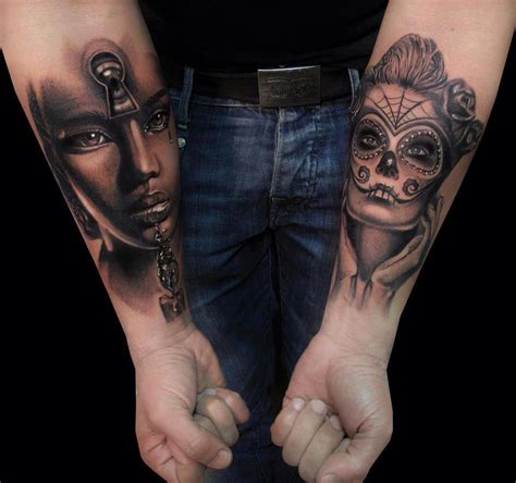 love tattoos for guys inner arm creative designs