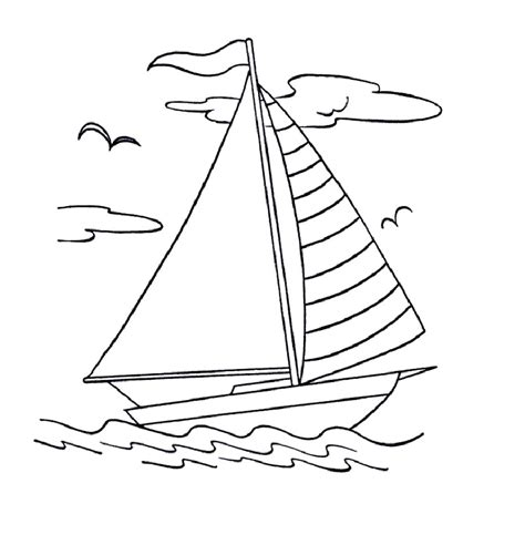 Free Printable Boat Coloring Pages For Kids Best Boat Colouring Pages