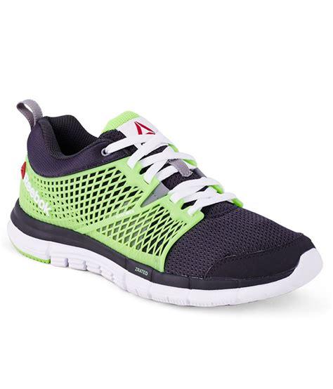 Harga Reebok Dash 2 0 reebok zquick dash green sports shoes for price in