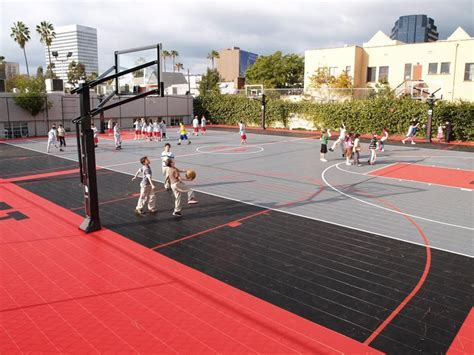 Basketball Court In Backyard by Backyard Indoor And Outdoor Basketball Courts Sport Court