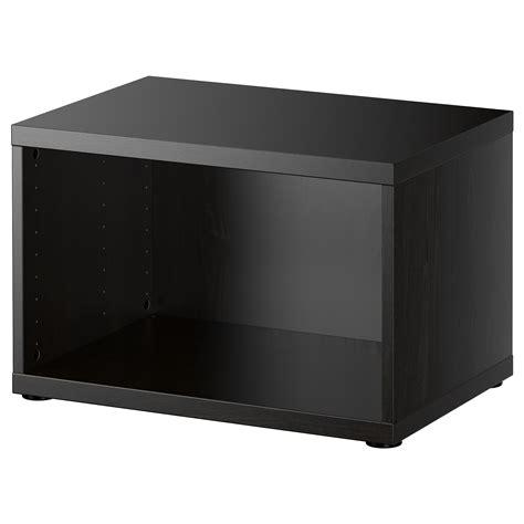 besta 80 cm best 197 frame black brown 60x40x38 cm ikea