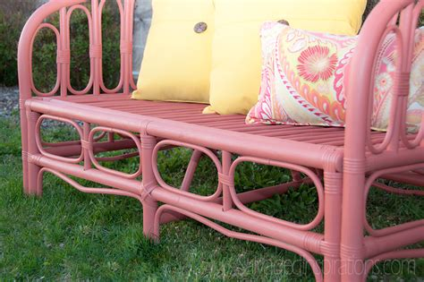 Painting Outdoor Furniture With Chalk/Mineral Paint .My