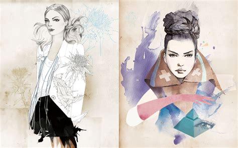 fashion illustration artists monsieur qui illustrations