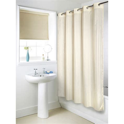 shower curtains hookless b m gt hookless jacquard shower curtain 302728