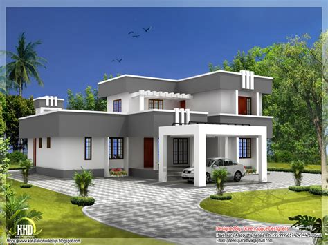 ultra modern house plans flat roof house plans designs