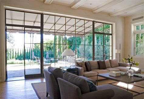 pretty living room windows home design lover