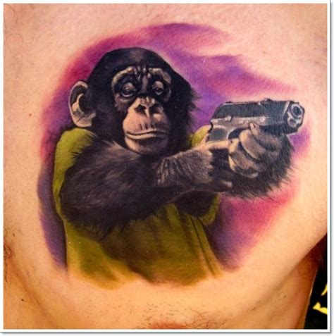 12 monkeys tattoo 30 best monkey designs tattoos era