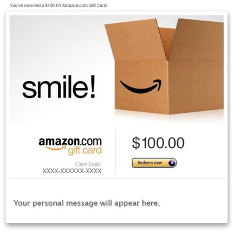 Unlimited Amazon Gift Card - amazon gift card e mail smile giftcardsunlimited com