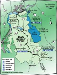map of the florida trail modern florida cracker tales of living in the ocala