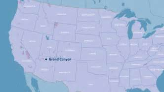 us map grand location grand and flagstaff getaway from the west