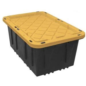 large plastic storage tote box container organizer bin