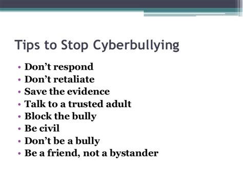 ten tips to prevent cyberbullying the anti bully blog cyberbullying