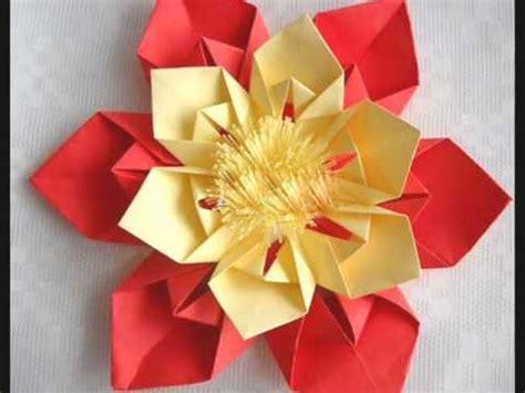 Flor Origami - origami flor