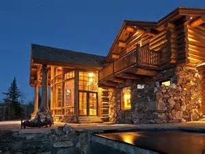 luxury log cabins sotheby s