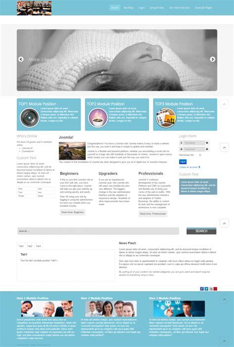 category blog layout joomla 2 5 5 free joomla templates hostbreak web hosting