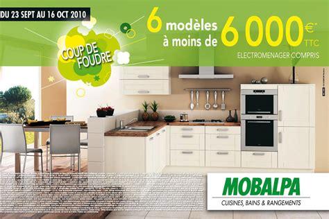 cuisine 10000 euros nos bonnes affaires 6 cuisines mobalpa 224 moins de 6 000