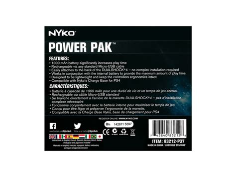 power apk power pak for playstation 174 4 nyko technologies
