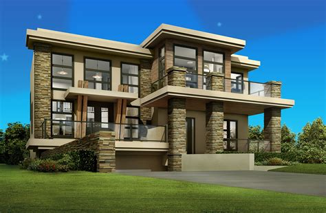 architectural designs com cutting edge contemporary house plan 81637ab