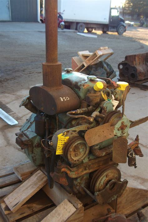 engine detroit diesel dt   nat engine complete core esn