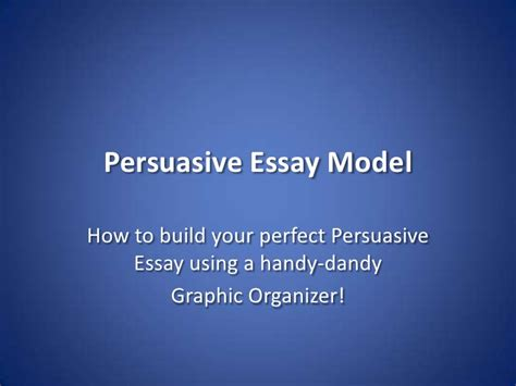 Argumentative Essay Model by Romeo Juliet Persuasive Essay Model
