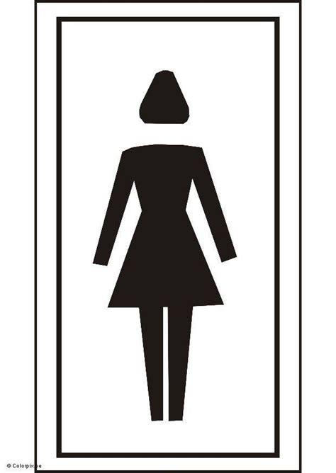 kleurplaat toilet kleurplaat toilet meisjes afb 5429