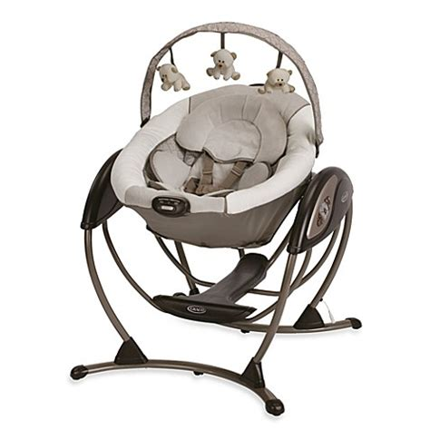 graco baby swing not swinging graco 174 glider lx gliding swing in paris buybuy baby