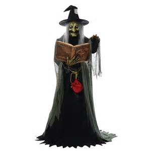 Halloween Animated Props Spell Speaking Witch Animated Prop 328682 Trendyhalloween Com