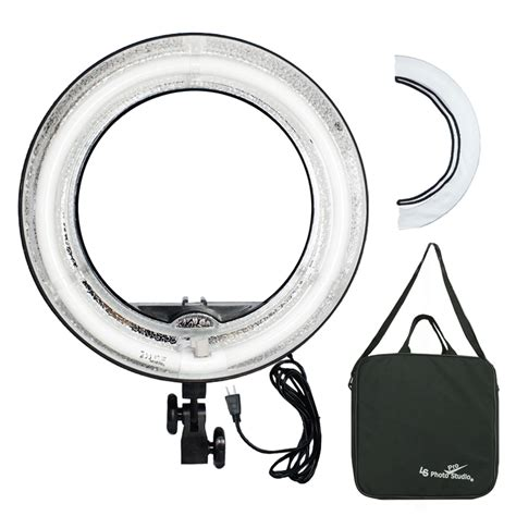 fluorescent dimmable ring light fluorescent 5500k dimmable ring light w bag camera photo