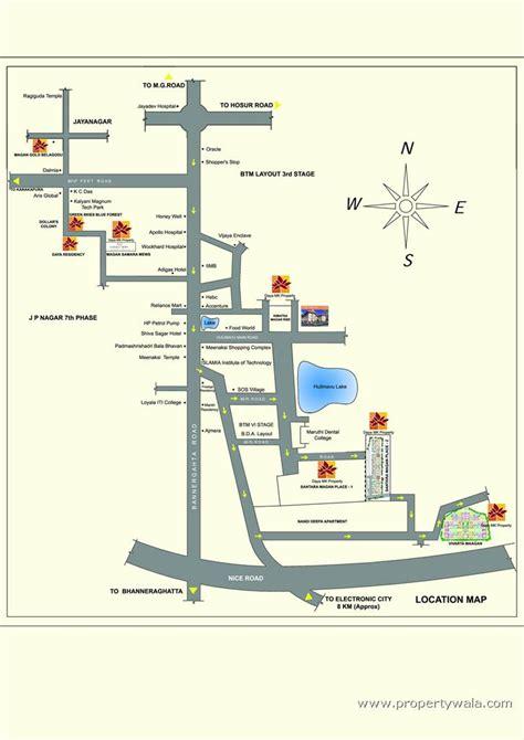 bannerghatta layout santara magan place k r road bangalore apartment
