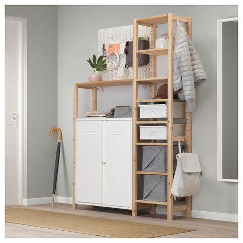 ivar cabinet ivar cabinet with doors white 80x83 cm ikea