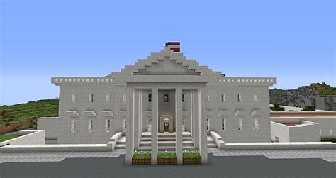 minecraft white house white house in minecraft minecraft project