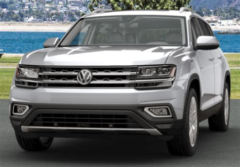 volkswagen atlas silver 2018 volkswagen atlas exterior color options
