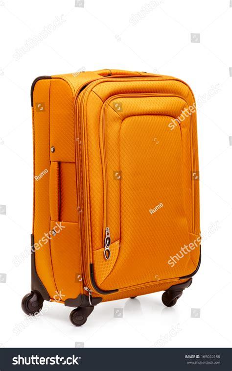 beautiful suitcases beautiful suitcase isolated on white background stock