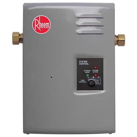 Point Of Use Water Heater For Shower by Rheem Electric Rte 9 Tankless Point Of Use Water Heater