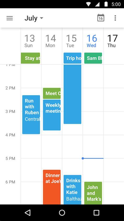 google calendar design update google calendar s update with material design is stunning