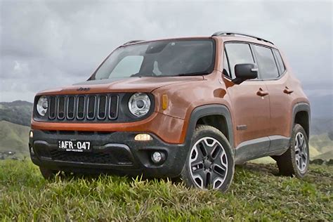 jeep renegade orange the jeep renegade in tropical north queensland