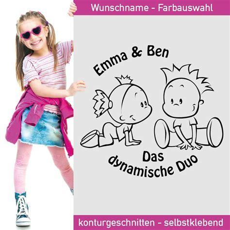 Autoaufkleber Geschwister by Baby Aufkleber Geschwister Das Dynamische Duo