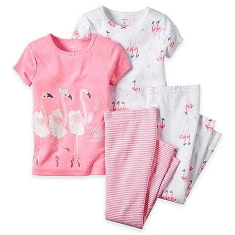 Pey Litte Pajamas by S 174 4 Flamingo Pajama Set In Pink Www