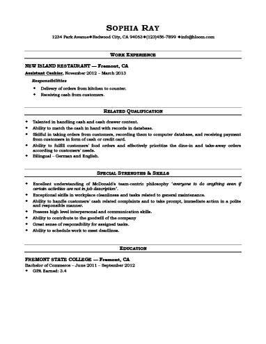 free sle resume for customer service cashier cashier resume template free resume rev sle resume resume