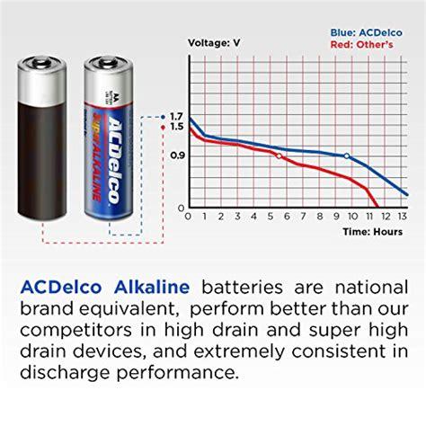 100 count aa batteries acdelco aa batteries alkaline battery 100 count bulk pack