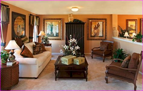 living room decorating ideas with brown couches