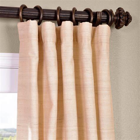 nailless curtain rod 100 raw silk drapery panels furniture amazing white