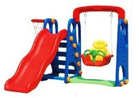 baby slide and swing set new childrens toddler slide swing multi set with