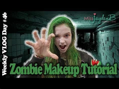 tutorial dance zombie zombie makeup and dance tutorial vlog day 49 jayden