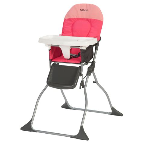 Cosco High Chair Cover by Cosco Simple Fold High Chair Colorblock Corel