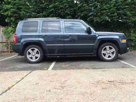 2008 Jeep Patriot Owners Manual Jeep Patriot Limited Crd 2008 Diesel Manual In Blue Car