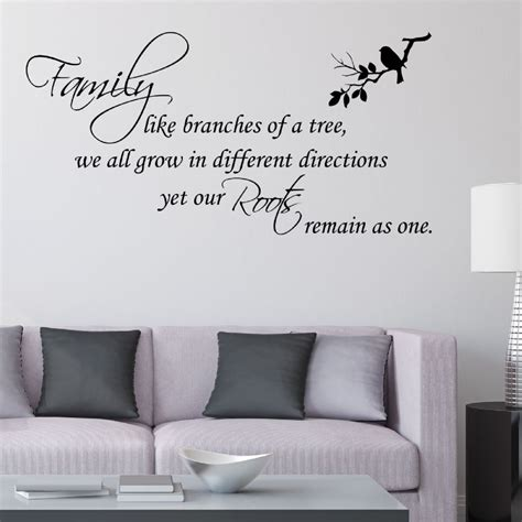 wall stickers family family like branches of a tree wall sticker decals