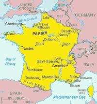 francia: note politiche e geografiche