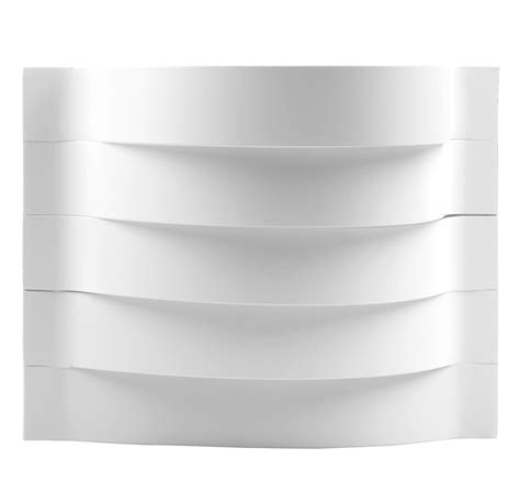 Wall Mounted Uplighters White Contour Curved Wall Mounted Indoor Hallway L